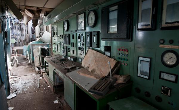 Заброшенные электростанции