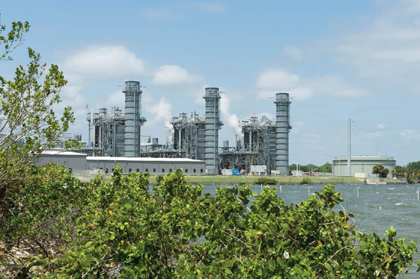 Электростанция в США