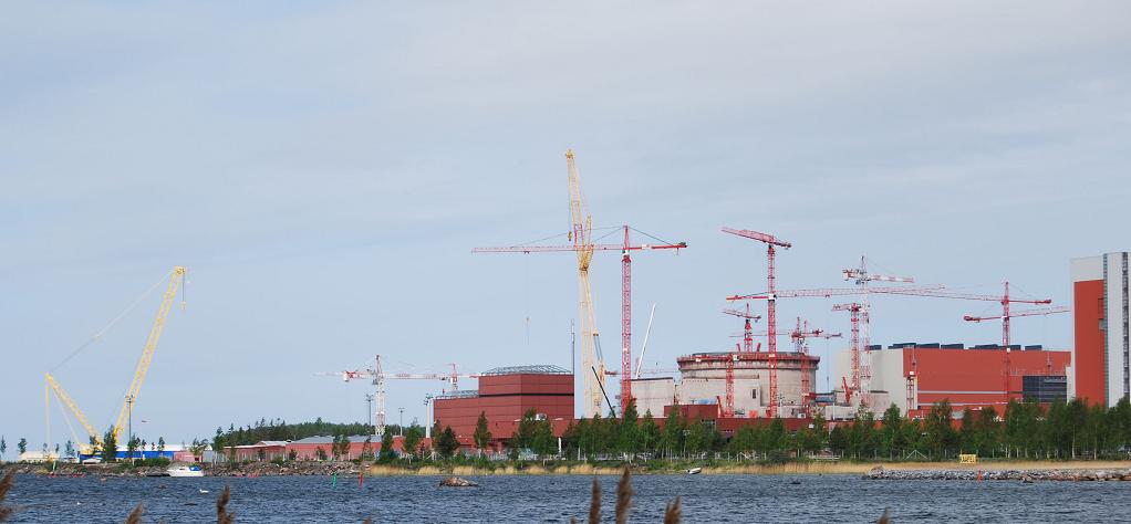 АЭС Олкилуото в Финляндии