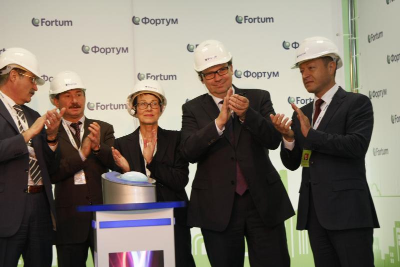 Финны на Челябинской ТЭЦ‑1 запустили две газотурбинные установки