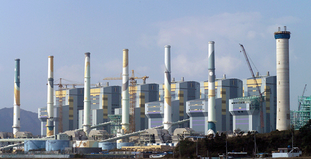 Taean power plant