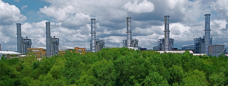 Электростанция на Филиппинах Santa Rita