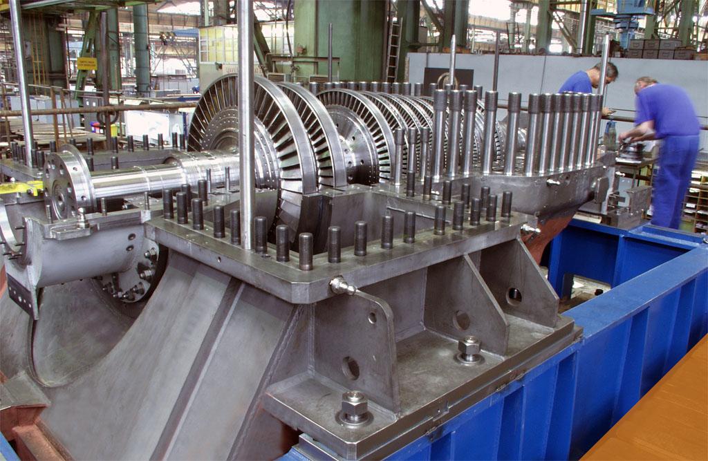Ремонт паровой турбины