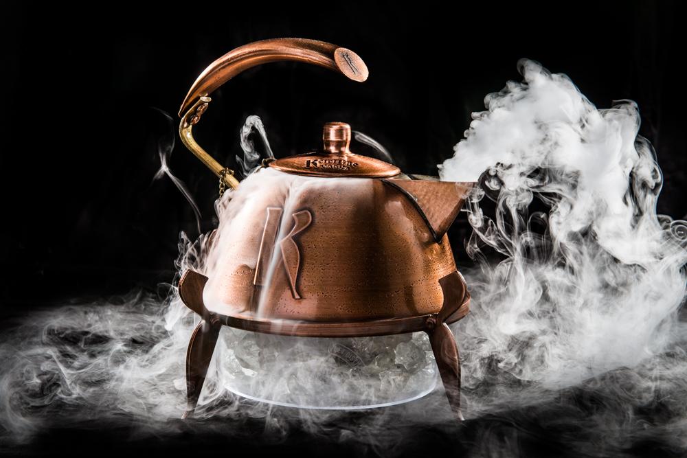 Пар из чайника