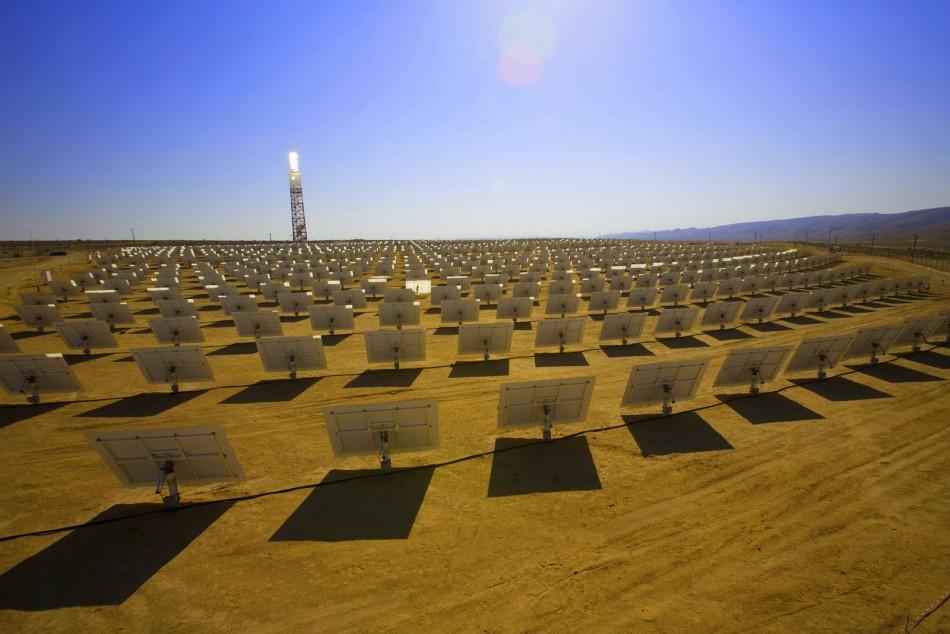 Солнечная электростанция в США Ivanpah