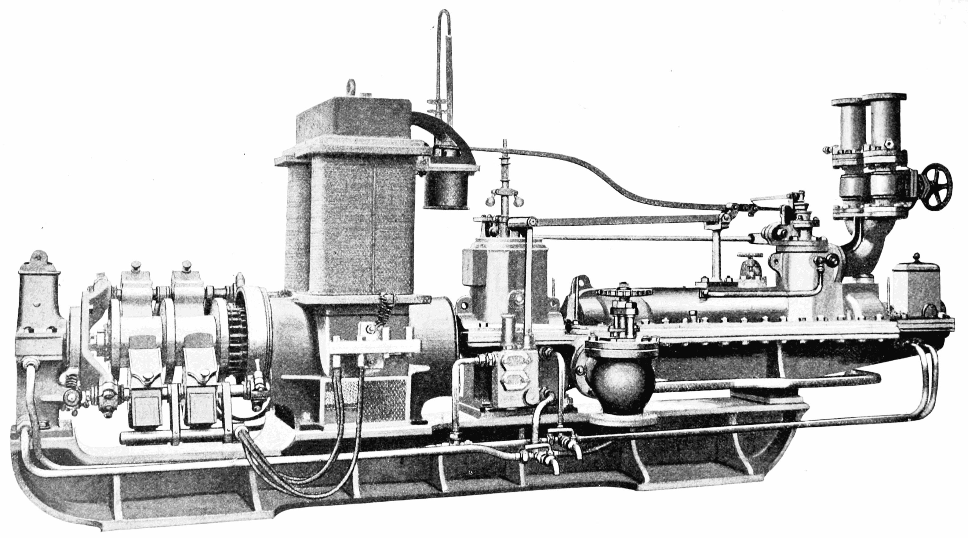 Реактивная турбина Парсонса