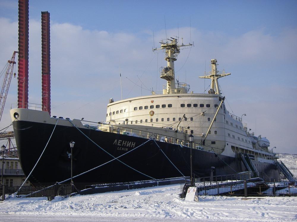 """Атомный ледокол """"Ленин"""""""