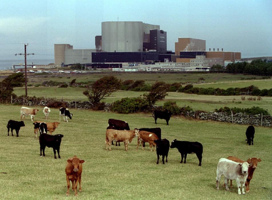 АЭС в Великобритании Wylfa Magnox