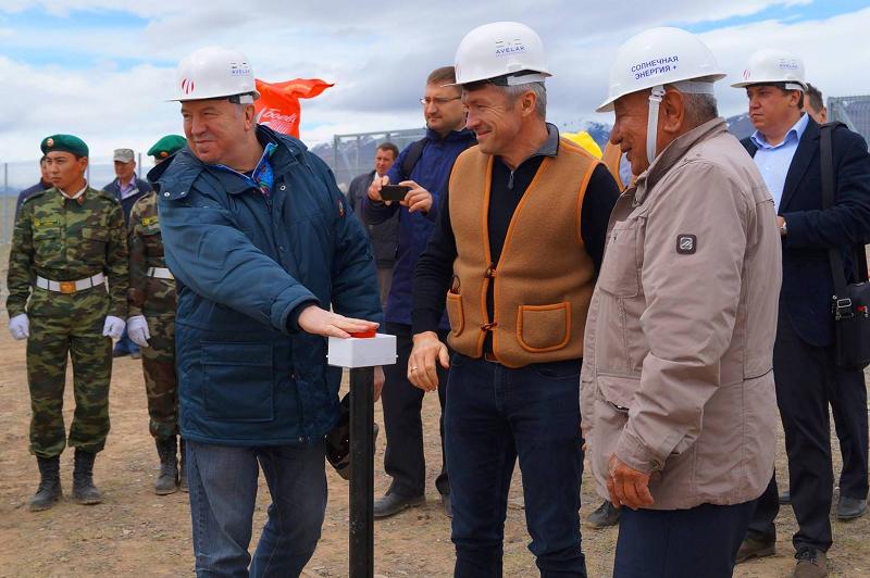 Солнечная электростанция в Горном Алтае