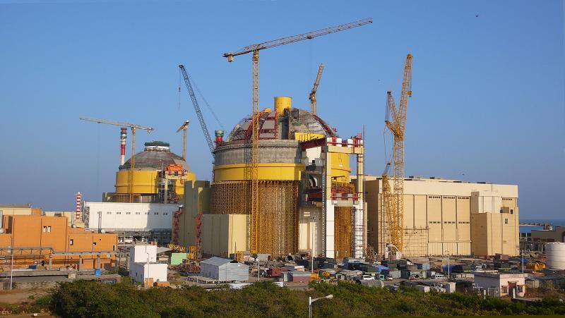 АЭС Куданкулам в Индии