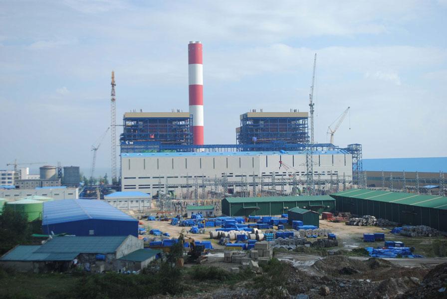 ТЭС Вунг Анг 1 в провинции Ха Тинь