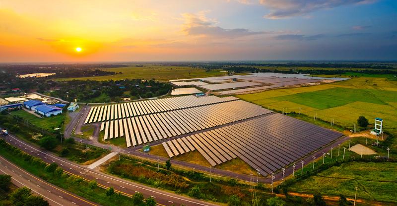 Солнечная электростанция в Таиланде