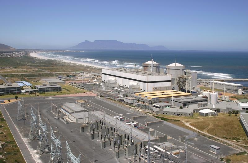 АЭС в ЮАР Koeberg