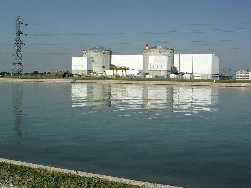 АЭС Fessenheim во Франции