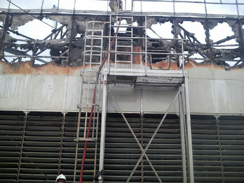 Пожар на Краснодарской ТЭЦ