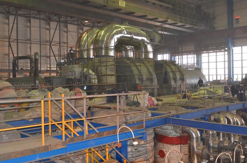 Модернизация шестого энергоблока Беловской ГРЭС