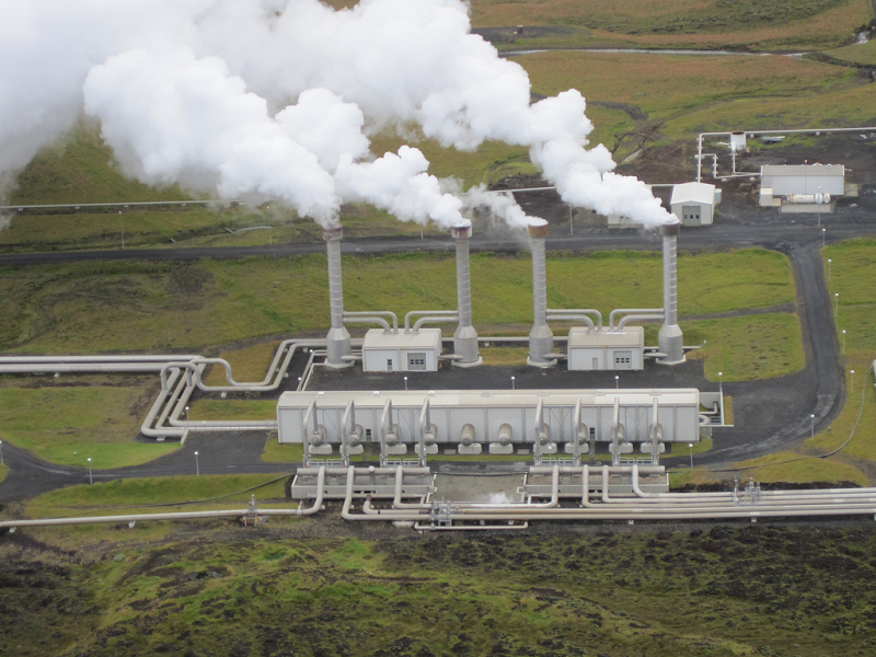 Геотермальная электростанция в Италии Bagnore 4