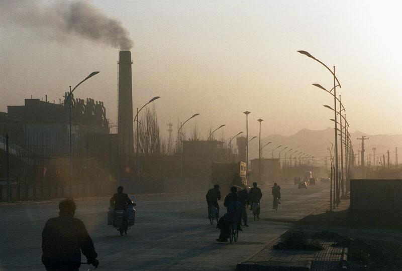 Старая китайская угольная электростанция
