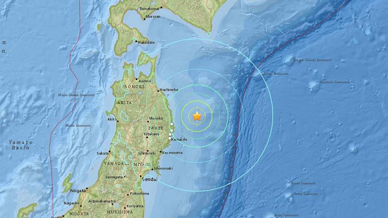 Землетрясение в Японии 2015