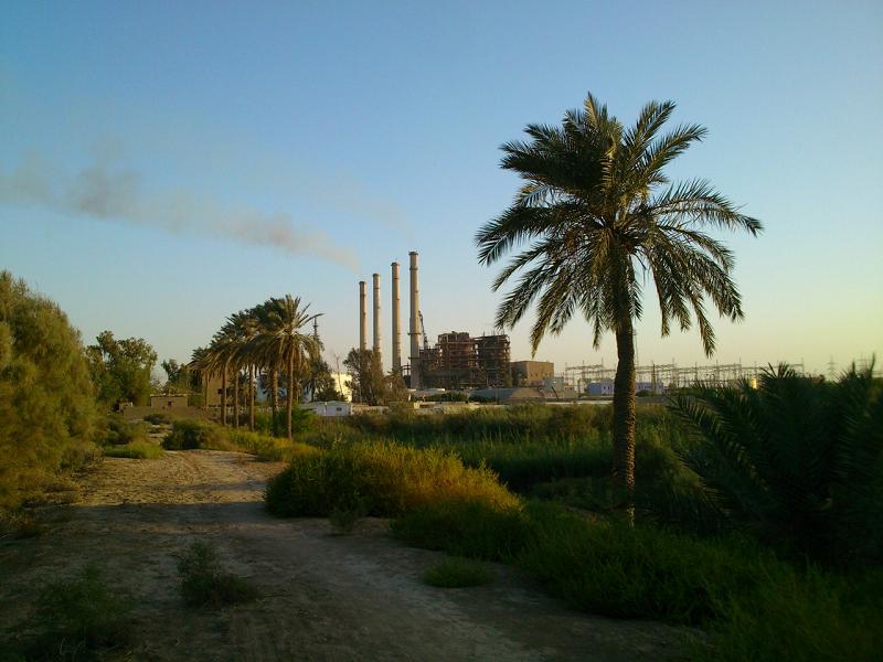 Электростанция Hartha в Ираке