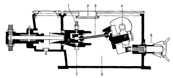 Схема поршневого насоса-дозатора MILROYAL