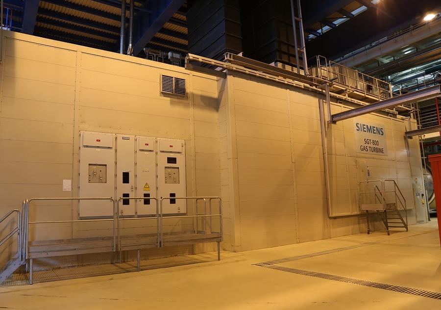 Пермская ТЭЦ-6, газовая турбина Siemens SGT-800