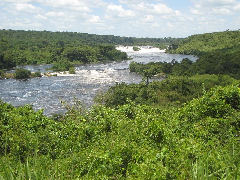 Река Музизи в Уганде