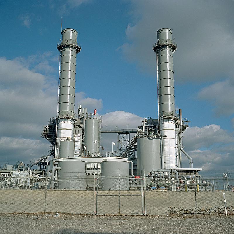 Электростанция комбинированного цикла Mountainview в Калифорнии, США