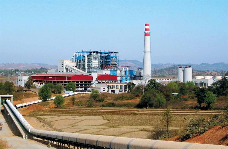 Первая угольная ТЭС TIGYIT в Мьянме