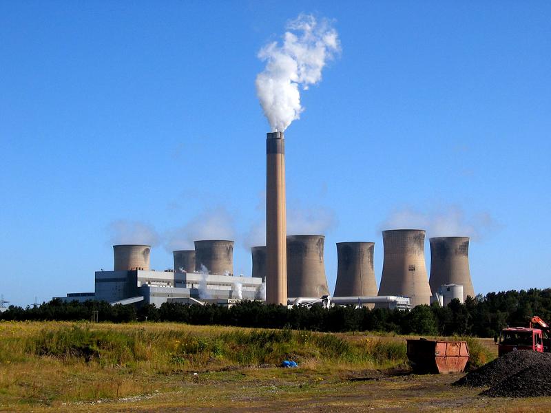 Угольная ТЭС Eggborough в Великобритании