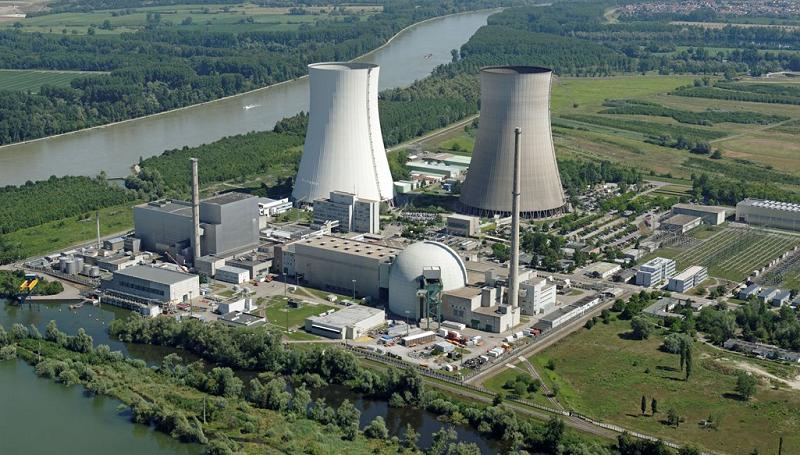 Остановленная АЭС Philippsburg в Германии