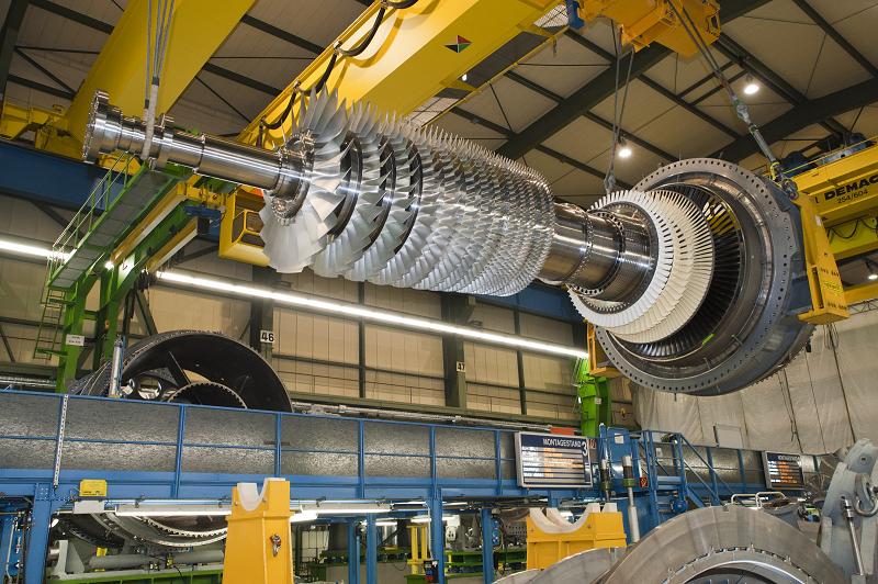 Газовая турбина Siemens SGT6-5000F