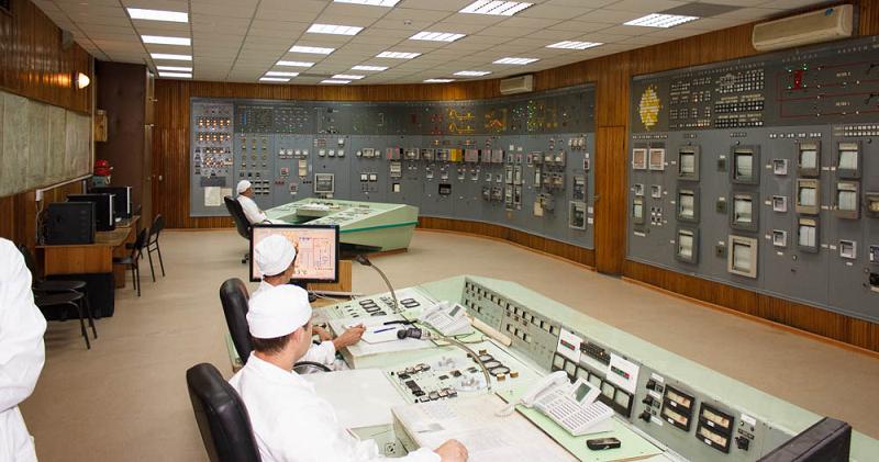 Щит управления реактором БОР-60