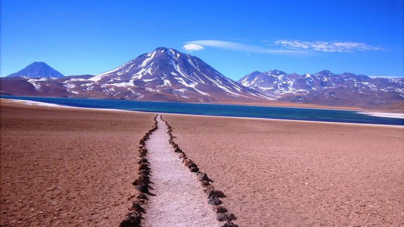 Пустыня Атакама в Чили