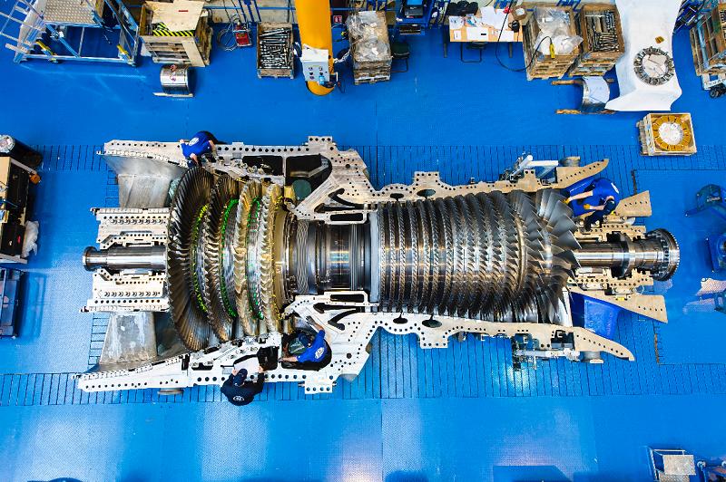 Газовая турбина 7HA.02 производства американской GE