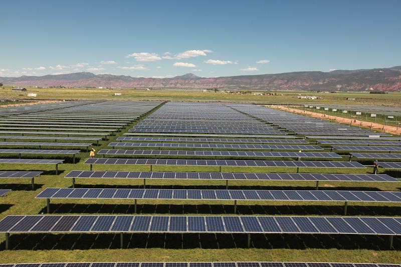 Солнечная электростанция Utah Red Hills Renewable Park (URHRP) в Юте, США