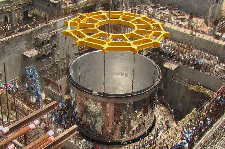 Строительство реактора на быстрых нейтронах в Индии