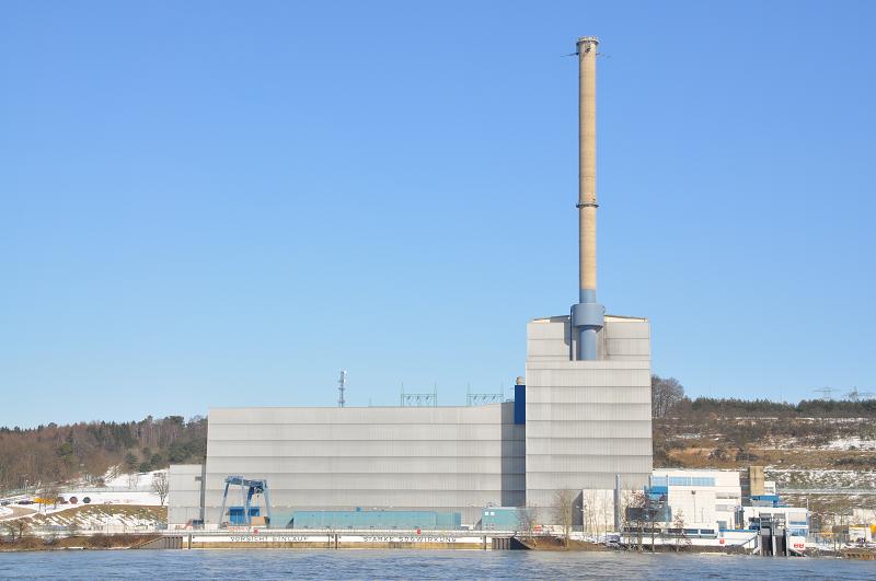 Немецкая атомная электростанция Krummel
