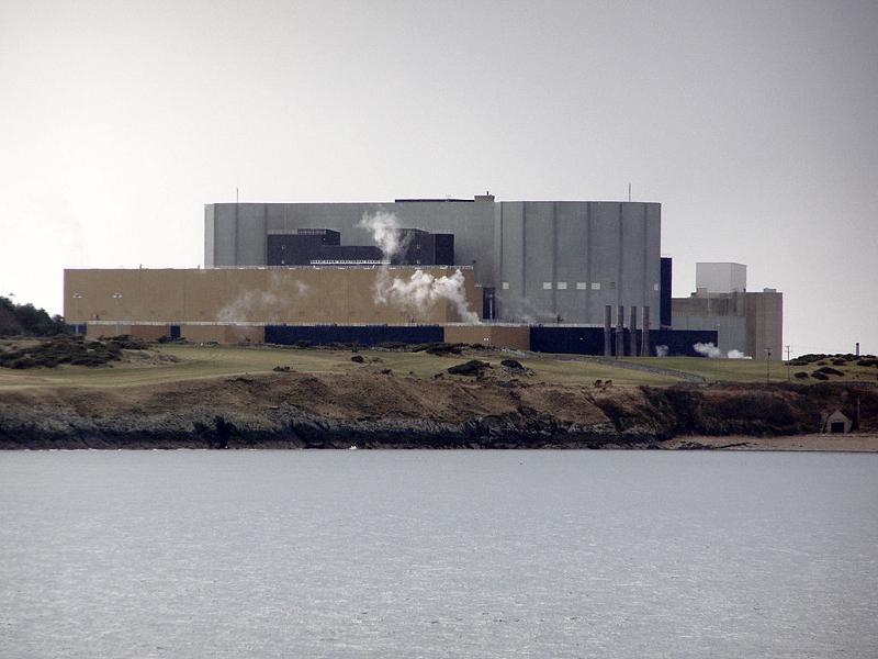 Британская АЭС The Wylfa