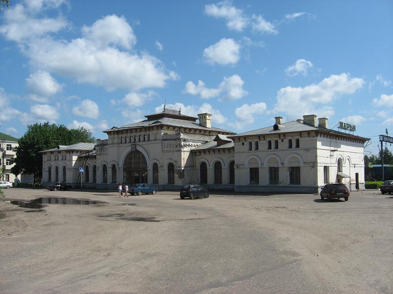 Город Шарья в Костромской области