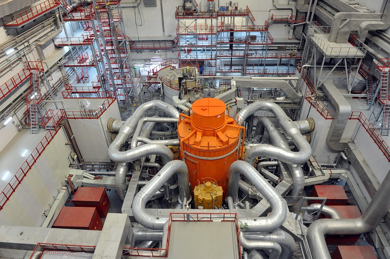 Блок с реактором БН-800 на Белоярской АЭС