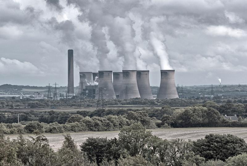 Угольная электростанция Fiddlers Ferry в Великобритании