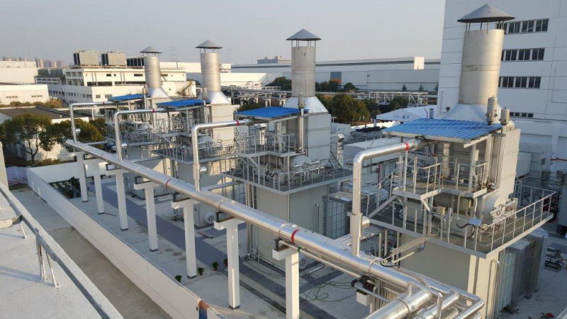 Газовая ТЭЦ китайского автозавода SAIC Volkswagen