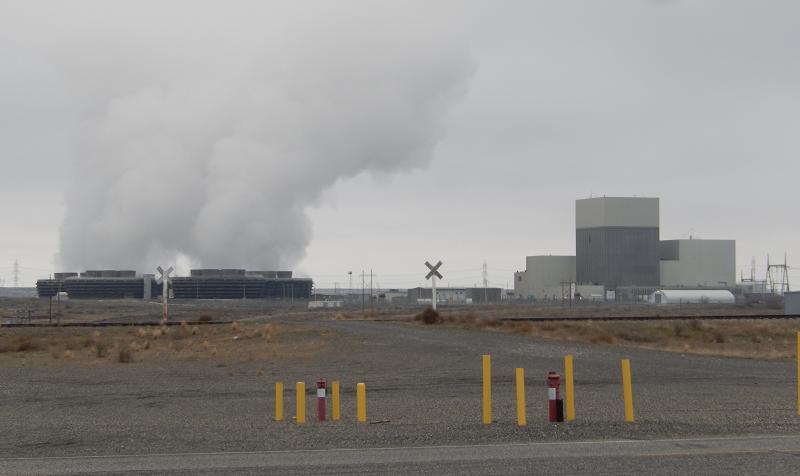 Атомная электростанция Columbia штате Вашингтон, США