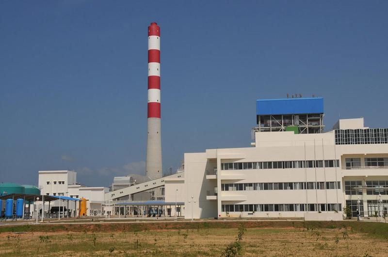 Угольная электростанция Norocholai на Шри-Ланке