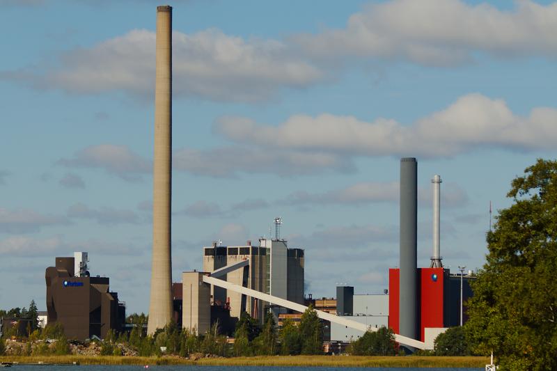 ТЭЦ Suomenoja в Финляндии