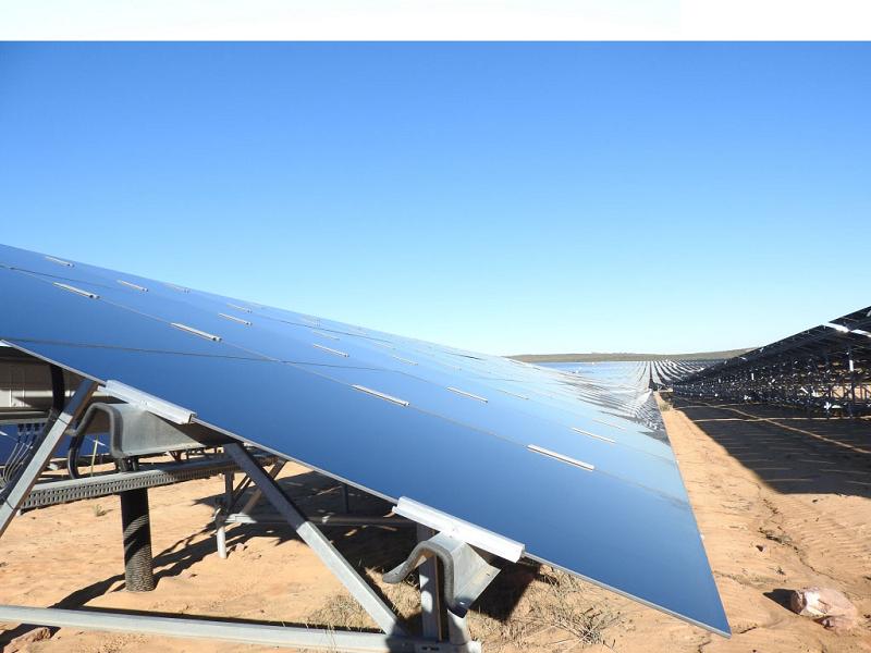 Солнечная фотоэлектрическая электростанция Paleisheuwel мощностью 82,5 МВт в ЮАР