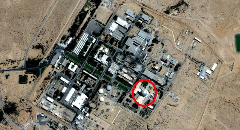 Ядерный реактор в Исследовательском центре Израиля