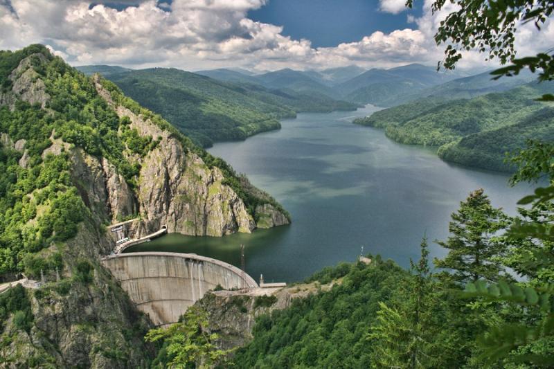 ГЭС Видрару в Румынии