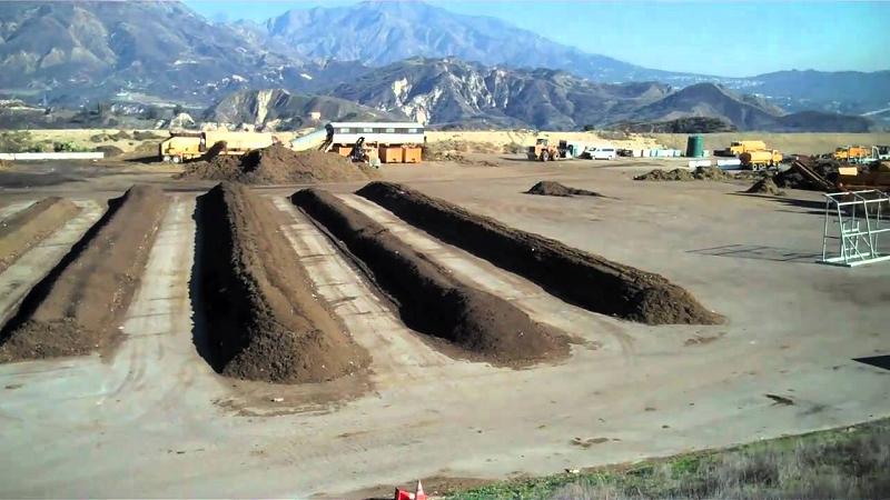 Расположенный рядом с городом Лос-Анджелес закрытый полигон бытовых отходов Lopez Canyon